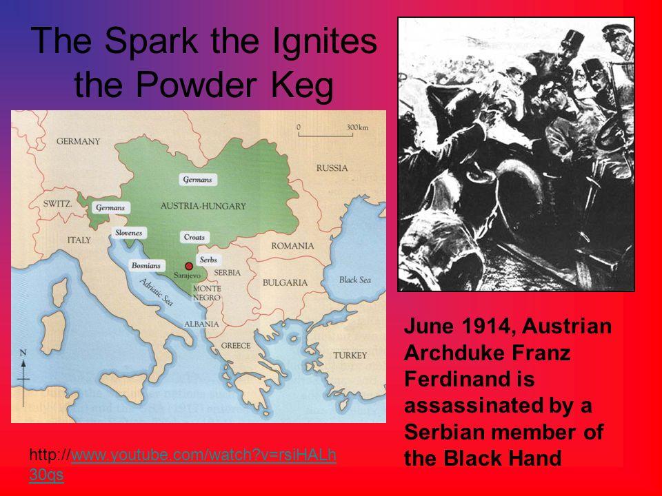 The Spark the Ignites the Powder Keg
