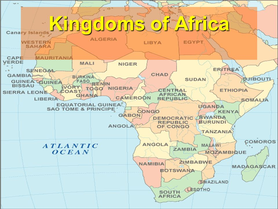 Kingdoms of africa ppt video online download 1 kingdoms of africa sciox Images