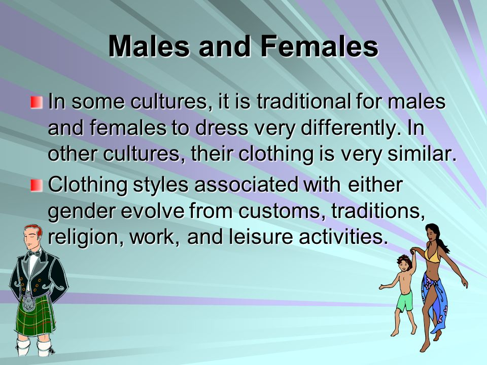 Males and Females