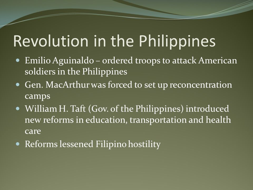 Revolution in the Philippines