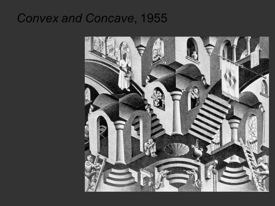 Convex and Concave, 1955