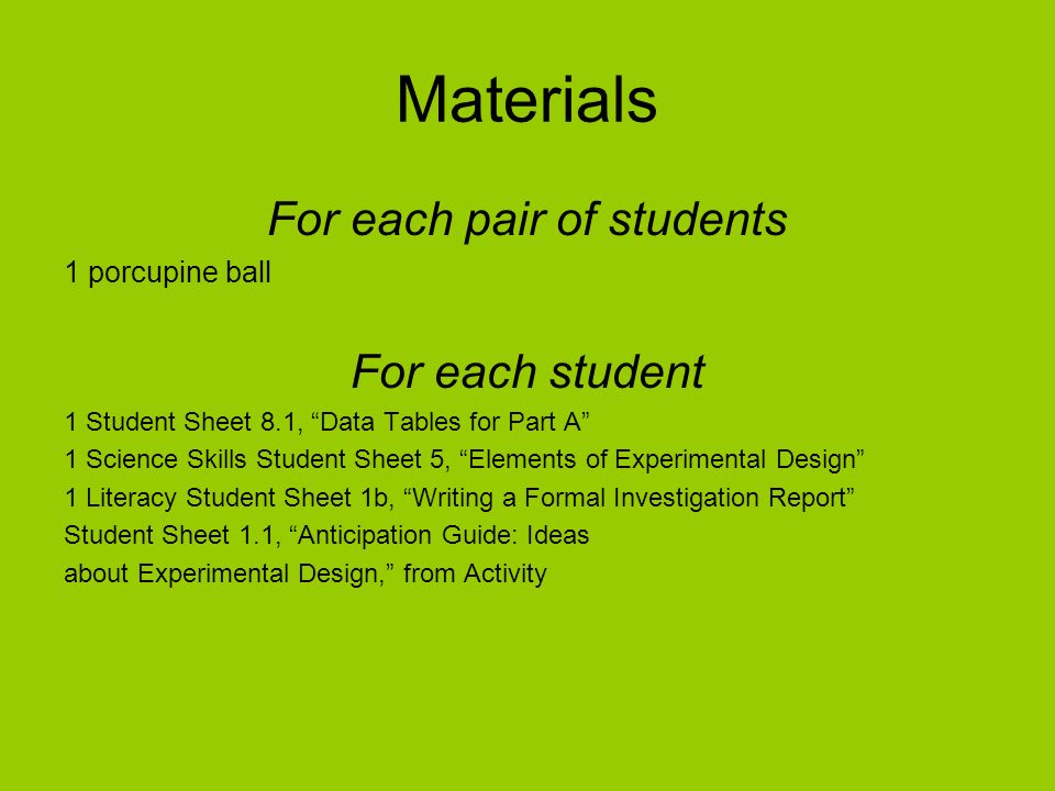 For each pair of students