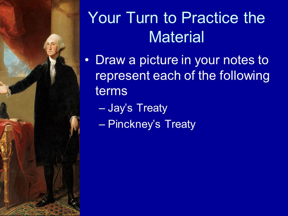 Your Turn to Practice the Material