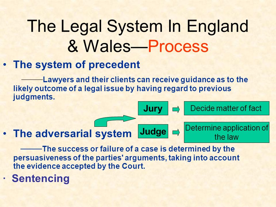 personnel in the english legal system The role and responsibility of a criminal defense lawyer english •  importance of a defense lawyer in the criminal justice system.