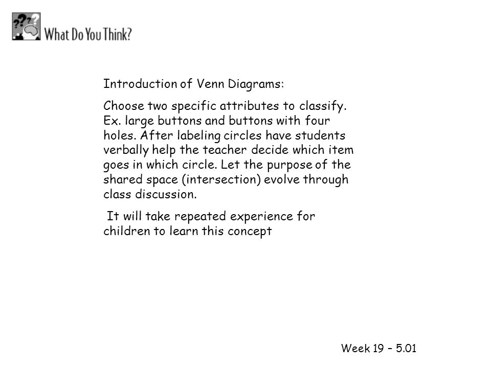 1 2 Introduction of Venn Diagrams: