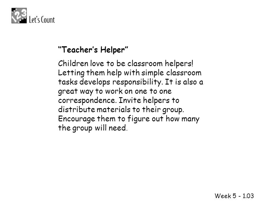 Teacher's Helper