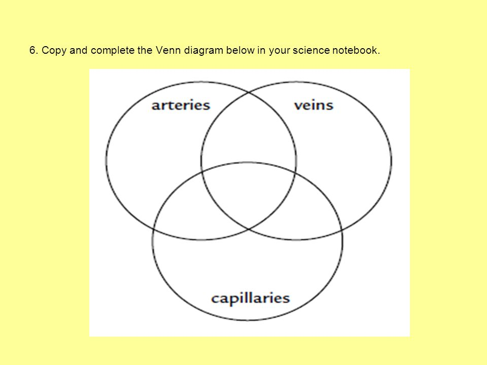 6. Copy and complete the Venn diagram below in your science notebook.
