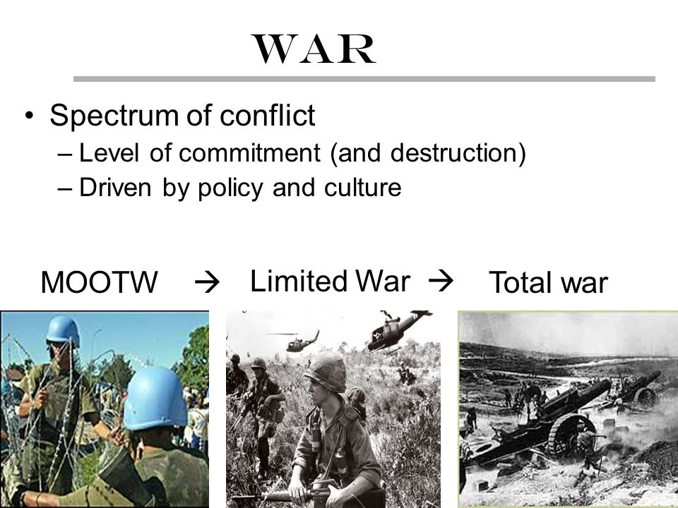 The conflict between nature and culture