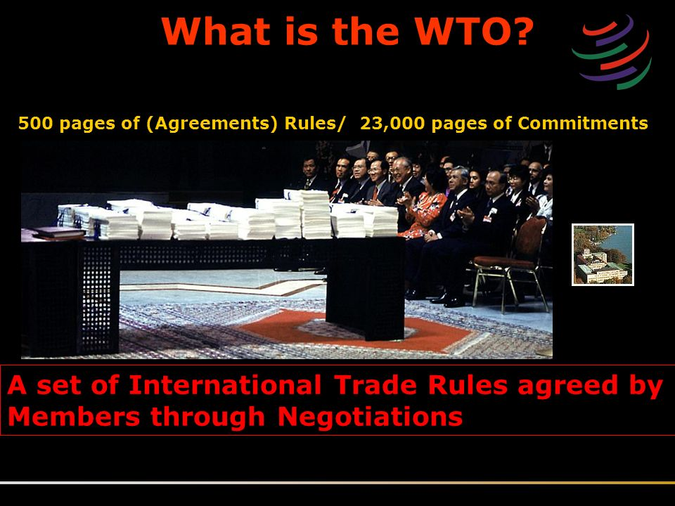 Rule Based Trading System Wto World Trade Organization