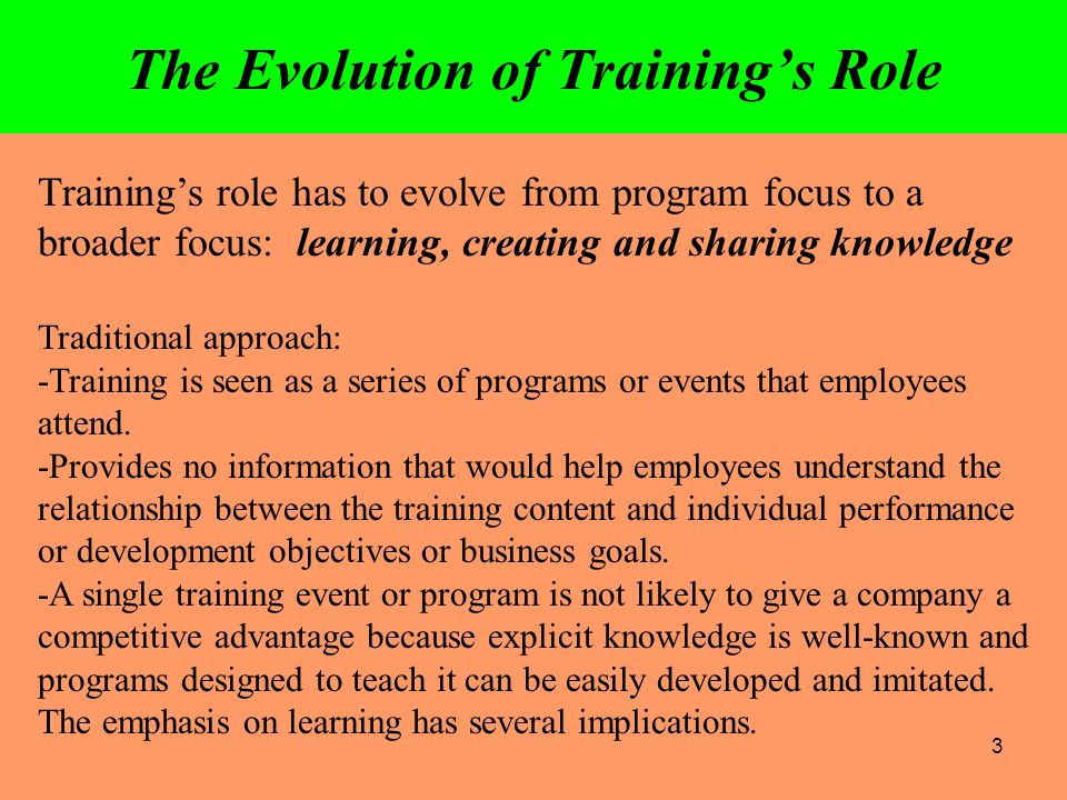 role of training and development in By bhanu chopra in an ever changing and fast paced corporate world, training  and development is an indispensable function training and.