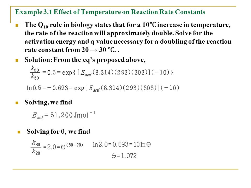 effect of temperature on rate of reaction pdf