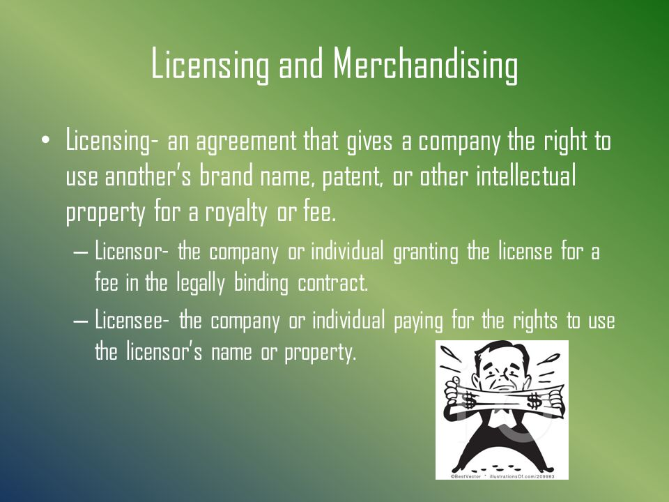 how to get a licence for a brand name