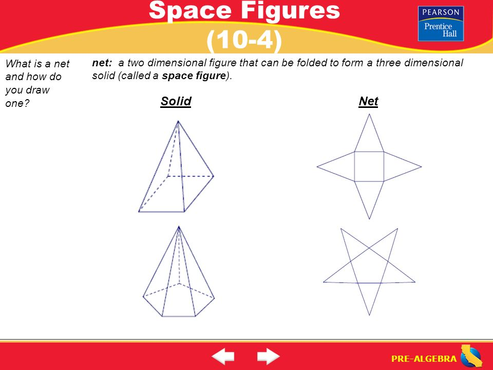 Space figures 10 4 what is a space figure ppt video for 3 dimensional drawing software