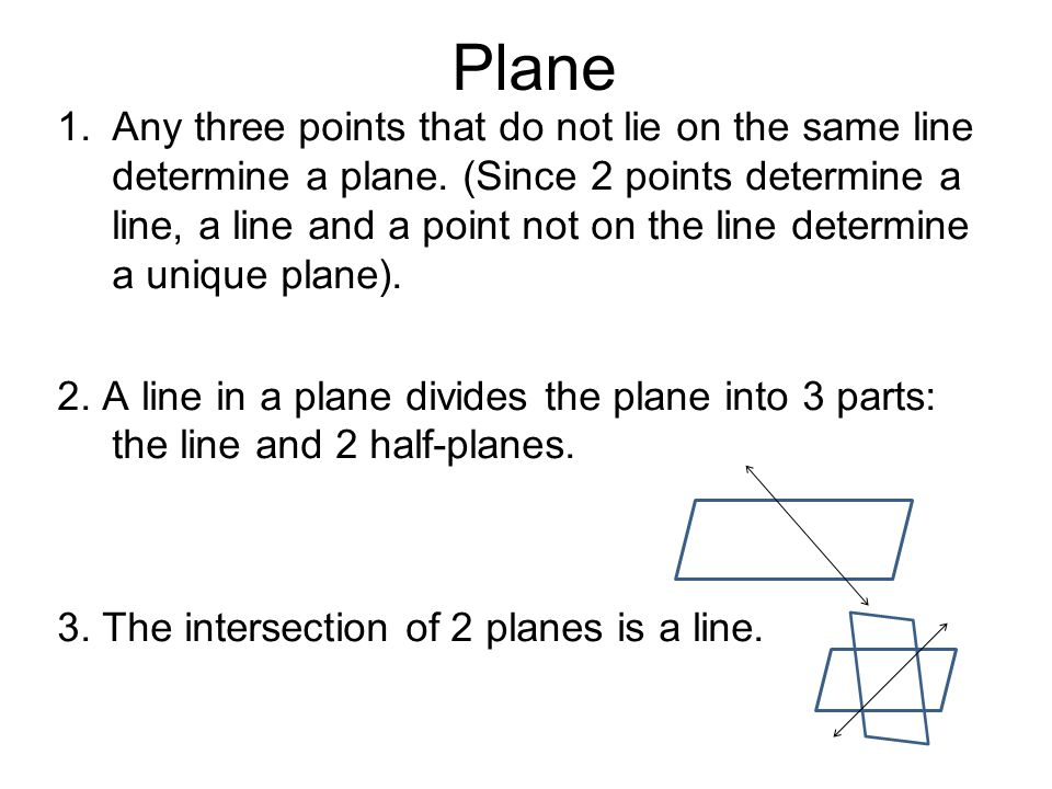 Three Point Plane : Welcome to mm unit seminar ppt download