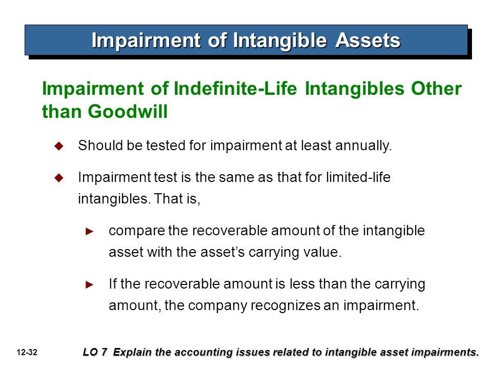 comparing the disclosure for intangible assets This standard is to prescribe the accounting treatment for intangible assets  those intangible assets therefore, the disclosure  by comparing its recoverable.