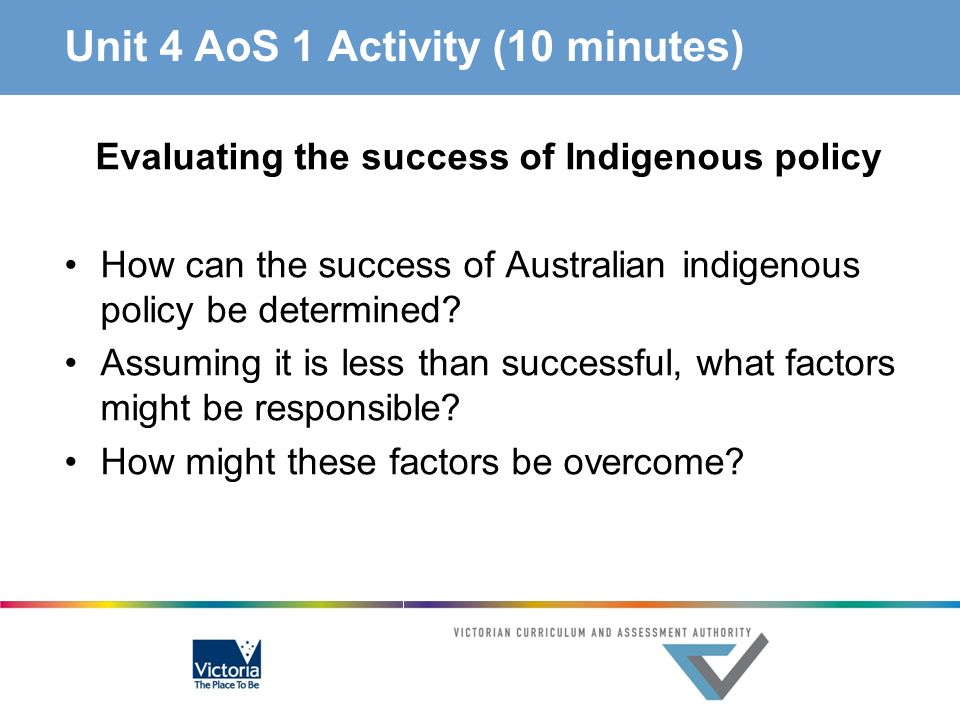 Unit 4 AoS 1 Activity (10 minutes)