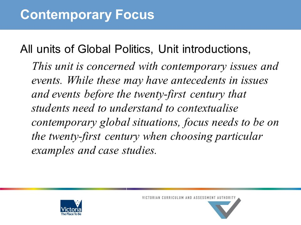 Contemporary Focus