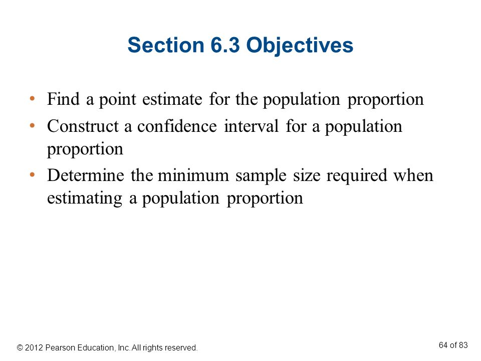 how to find sample size for population proportion