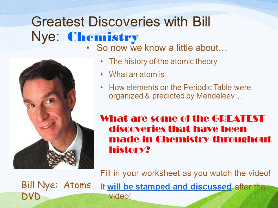 Periodic table videos bill nye gallery periodic table and sample periodic table of elements video bill nye gallery periodic table periodic table of elements video bill urtaz Choice Image
