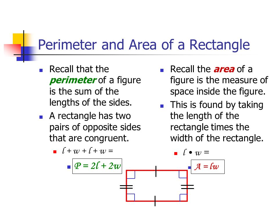 how to get perimeter of a square inside a square