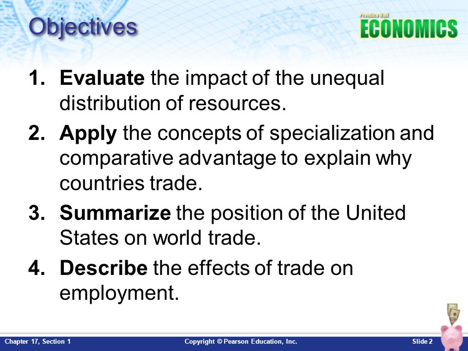 Chapter 17 International Trade Section 1 ppt download
