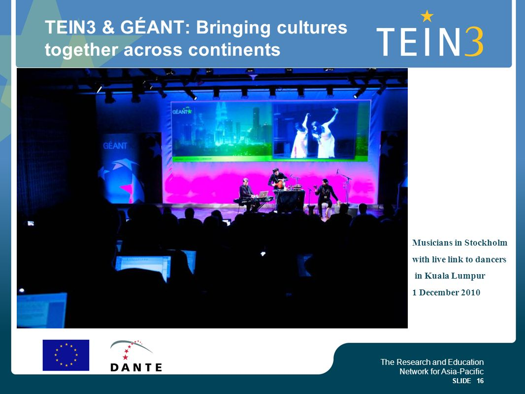 TEIN3 & GÉANT: Bringing cultures together across continents