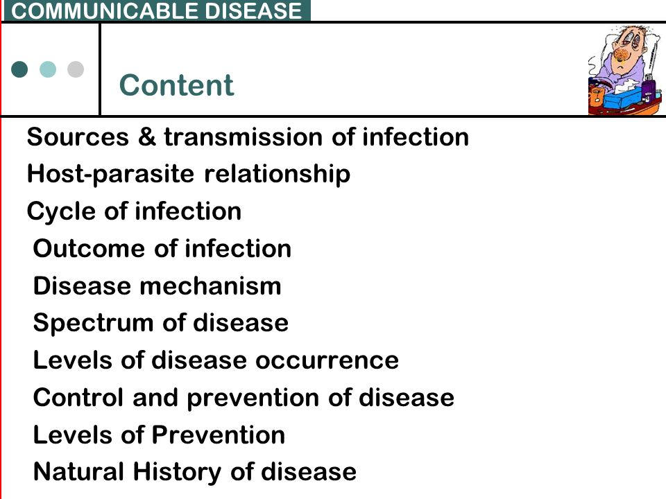 COMMUNICABLE DISEASE Content.
