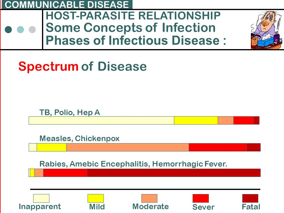 Some Concepts of Infection Phases of Infectious Disease :