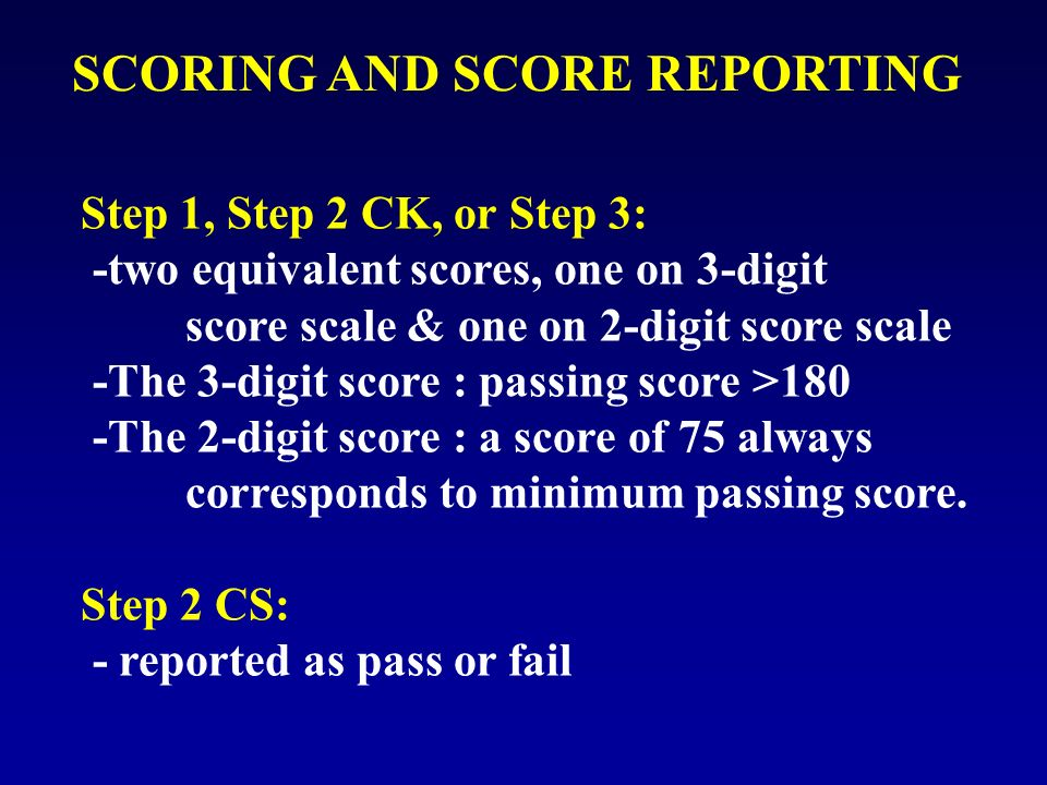 Medical doctors in usa how to prepare usmle ppt video online 35 scoring and score reporting malvernweather Gallery
