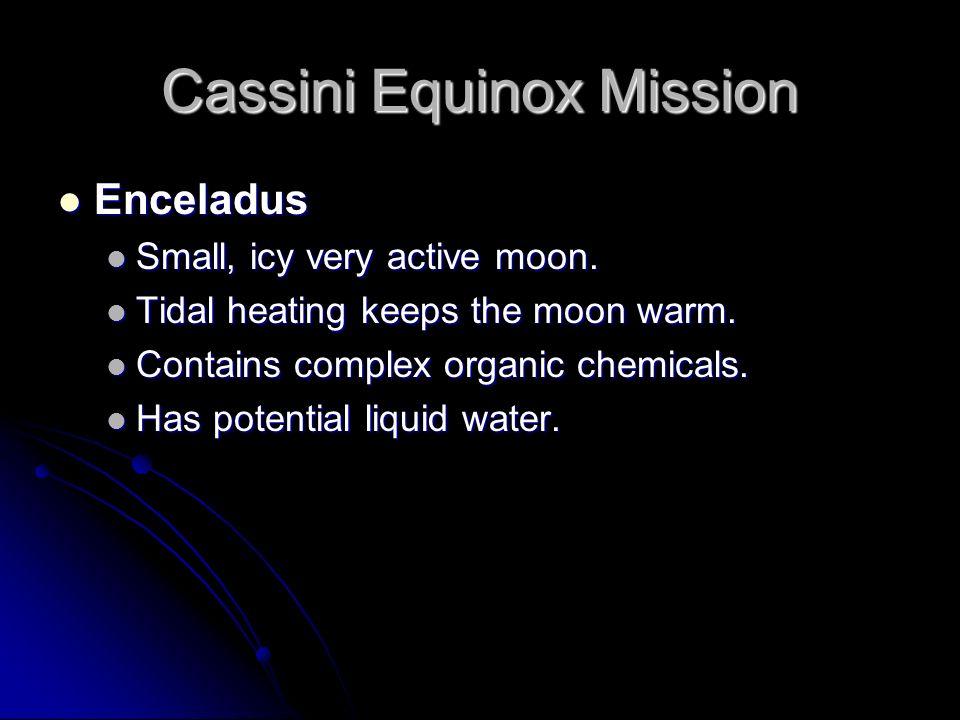 Cassini Equinox Mission