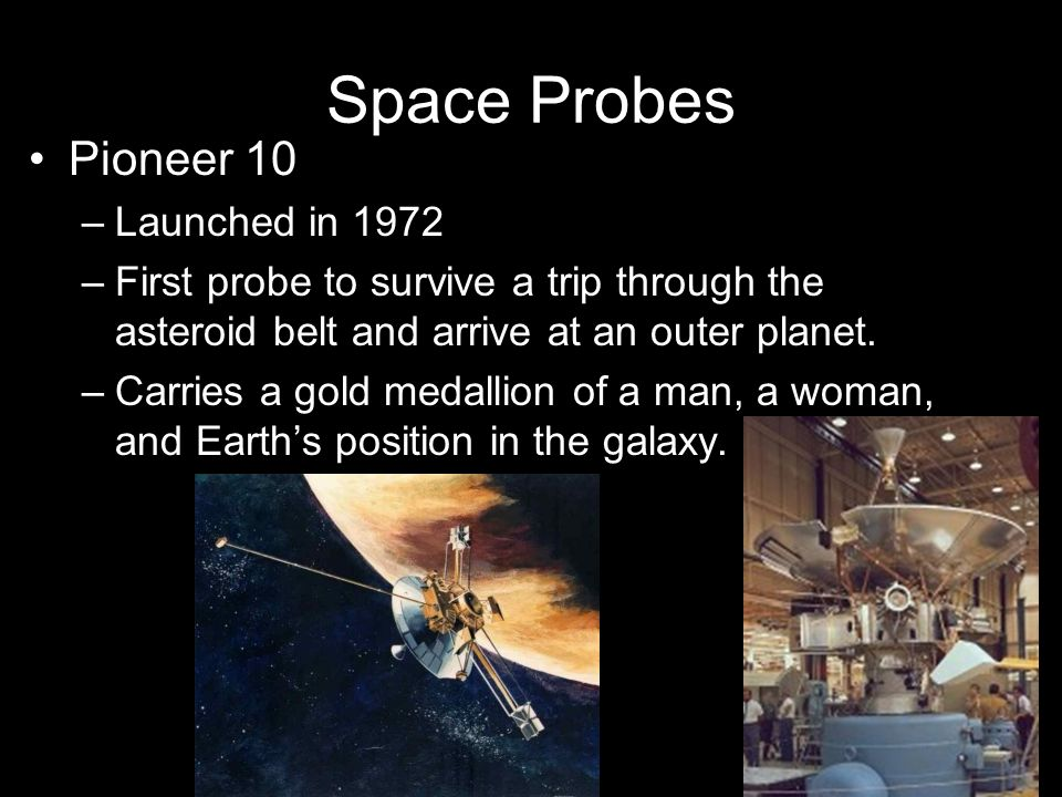 Space Probes Pioneer 10 Launched in 1972