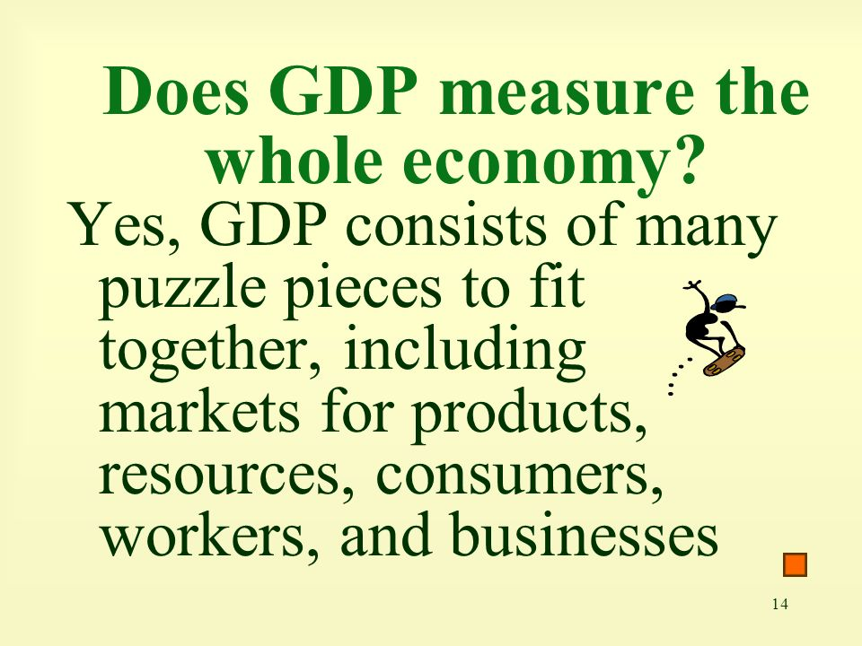 Does GDP measure the whole economy