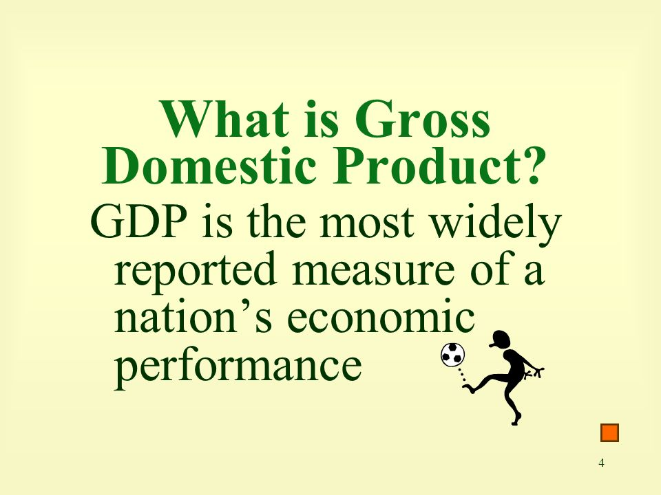 What is Gross Domestic Product