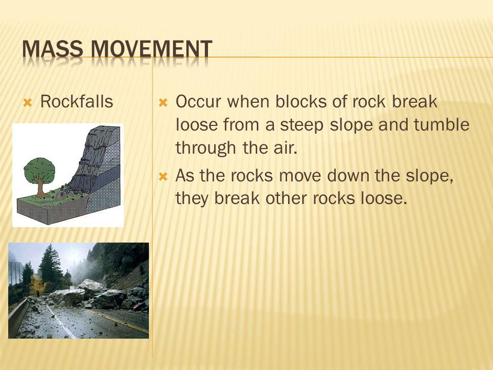 Mass Movement Rockfalls