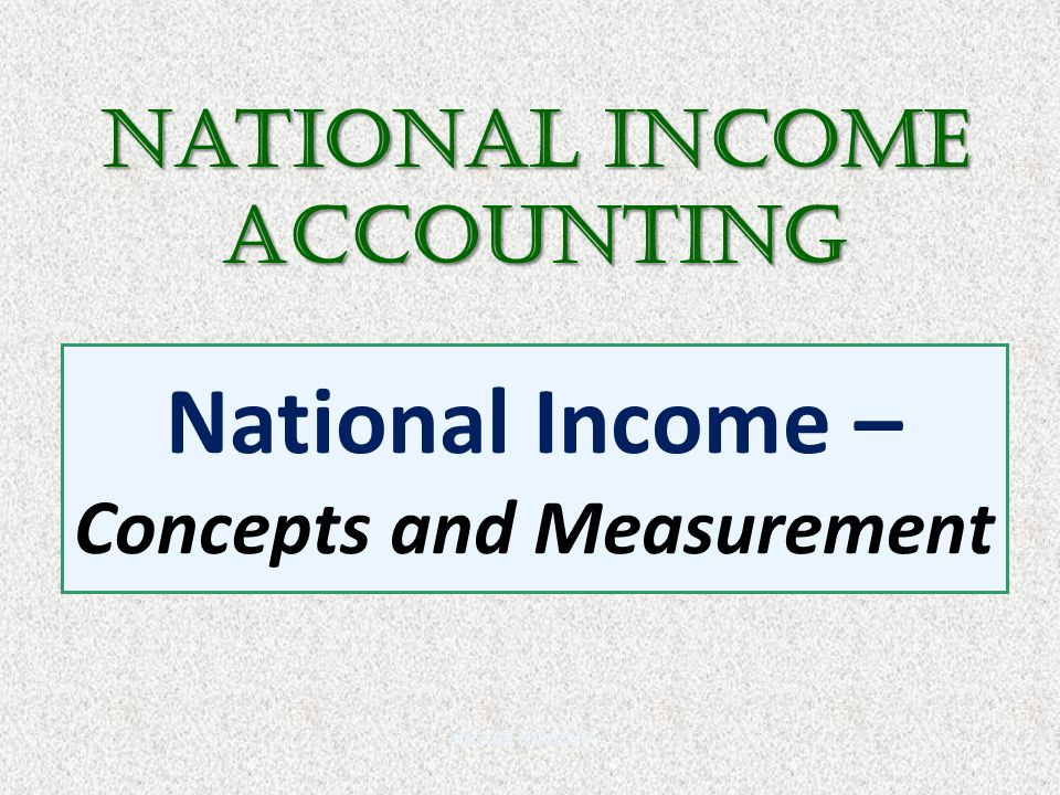 income concepts Before we look how earning income affects the accounting equation, let's define  income itself.