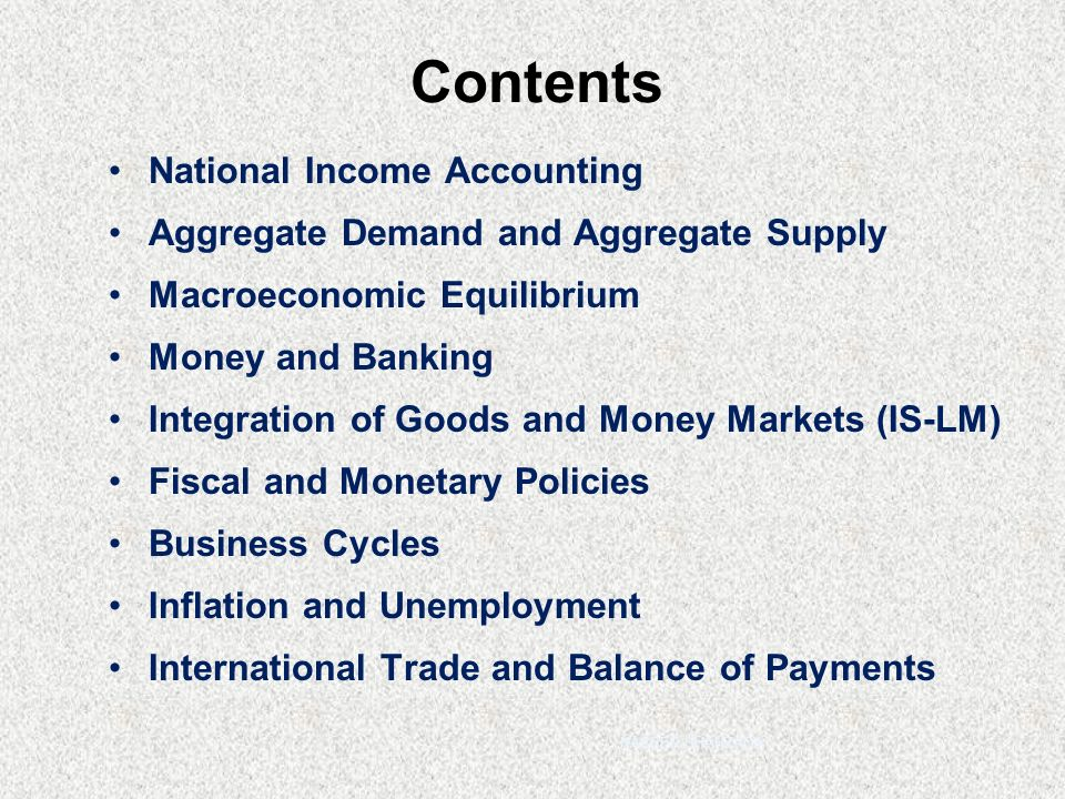 national income accounting macroeconomics pdf