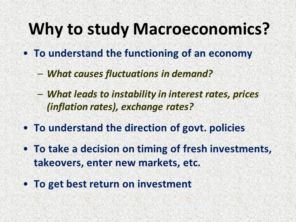 an introduction to the analysis of macroeconomics Ecological macroeconomics: introduction and review1  have to be included in any macroeconomic analysis8 ecological economists have.