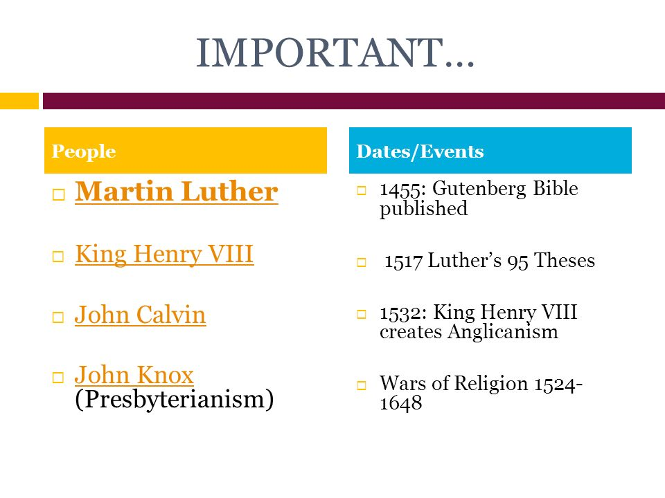 martin luther and henry viii The beliefs of luther, calvin and king henry viii during the reformation period.