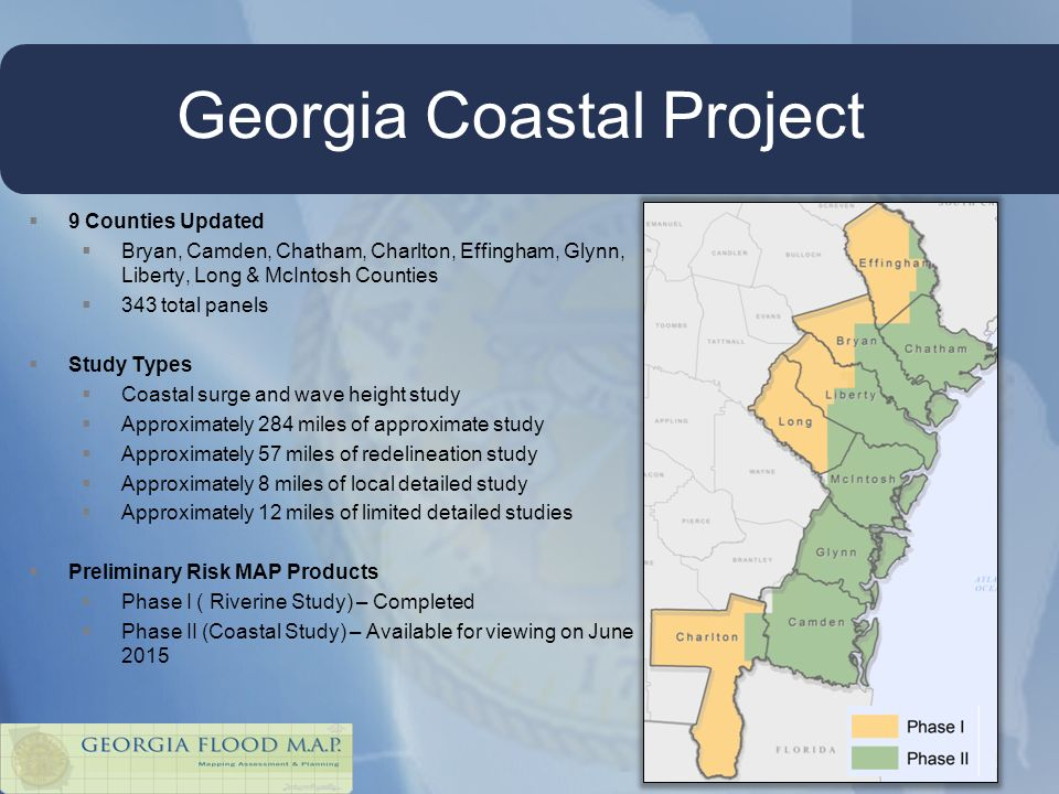 Georgia Flood MAP Program Ppt Video Online Download - Georgia flood zone map