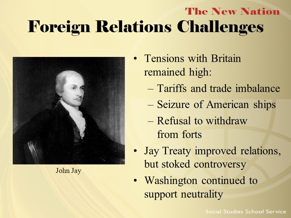 Foreign Relations Challenges