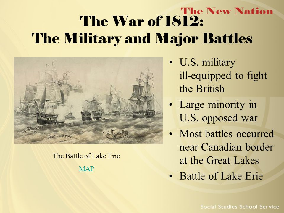 The War of 1812: The Military and Major Battles