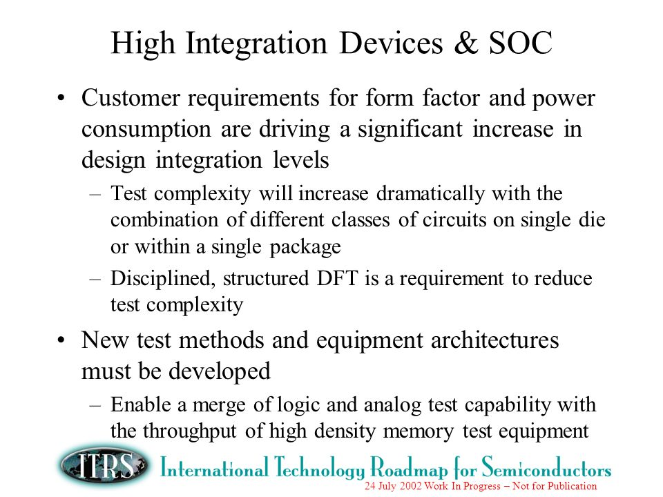High Integration Devices & SOC