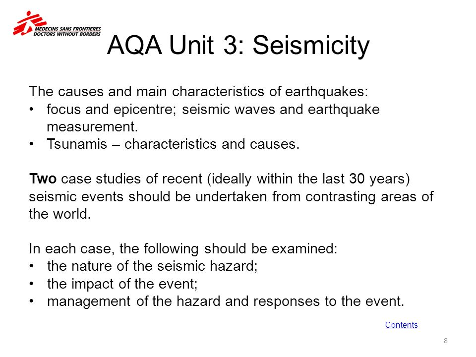 the main characteristics of earthquakes Unit 3 earthquake causes and characteristics major earthquakes, such as the 1964 alaskan earthquake, can occur in areas where subduction has occurred.