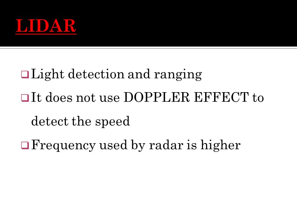 speed detection of moving vehicles using doppler The target vehicle's speed is then calculated by adding or subtracting these two speeds, depending on whether the two vehicles are moving in the same, or opposite, directions this calculation is done automatically, by the electronics in the radar unit.