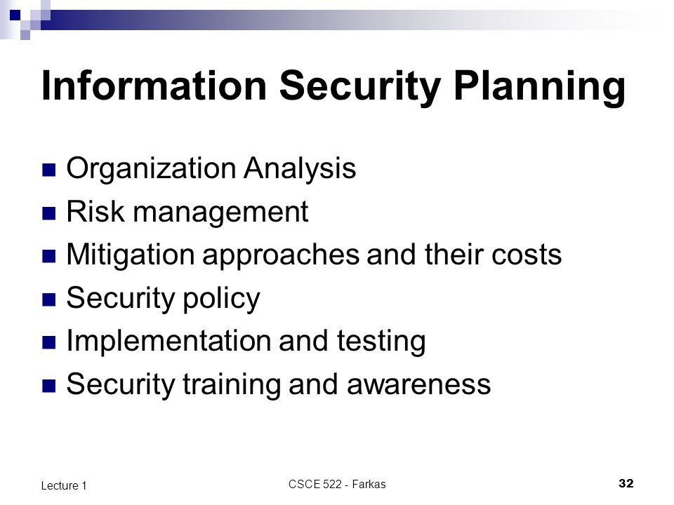 an introduction to recreational risk management and security control Sans institute 2007 as part of the information security reading room author retains full rights an introduction to information system risk management steve elky may 31, 2006 recommend taking the sans sec410 it security audit and control essentials course, available both online and via live classroom training.