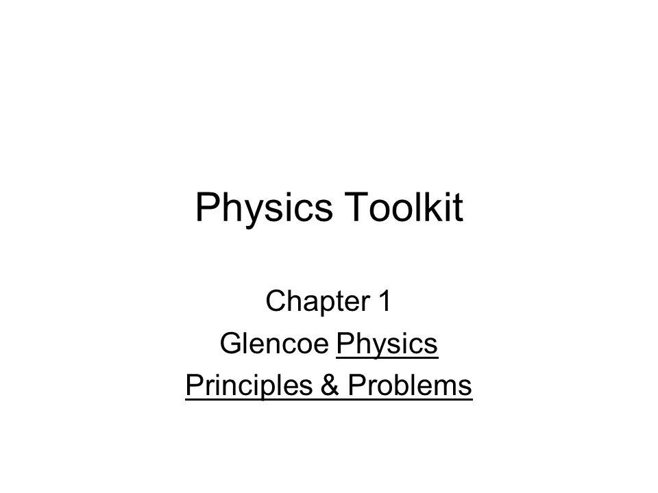 Chapter 1 Glencoe Physics Principles Problems