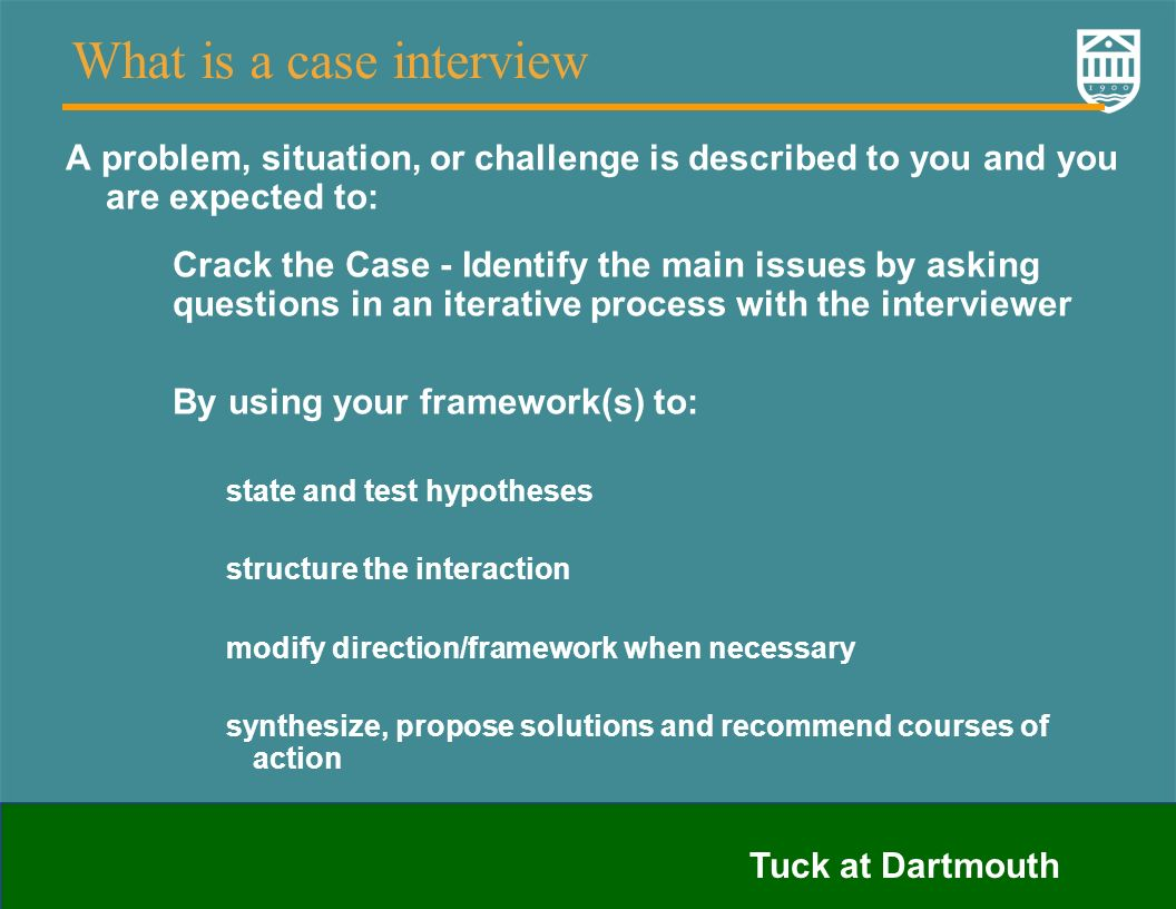 case interview questions