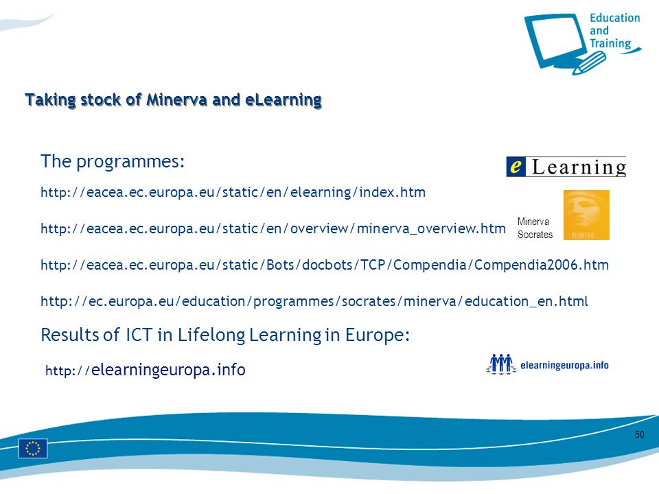 Taking stock of Minerva and eLearning