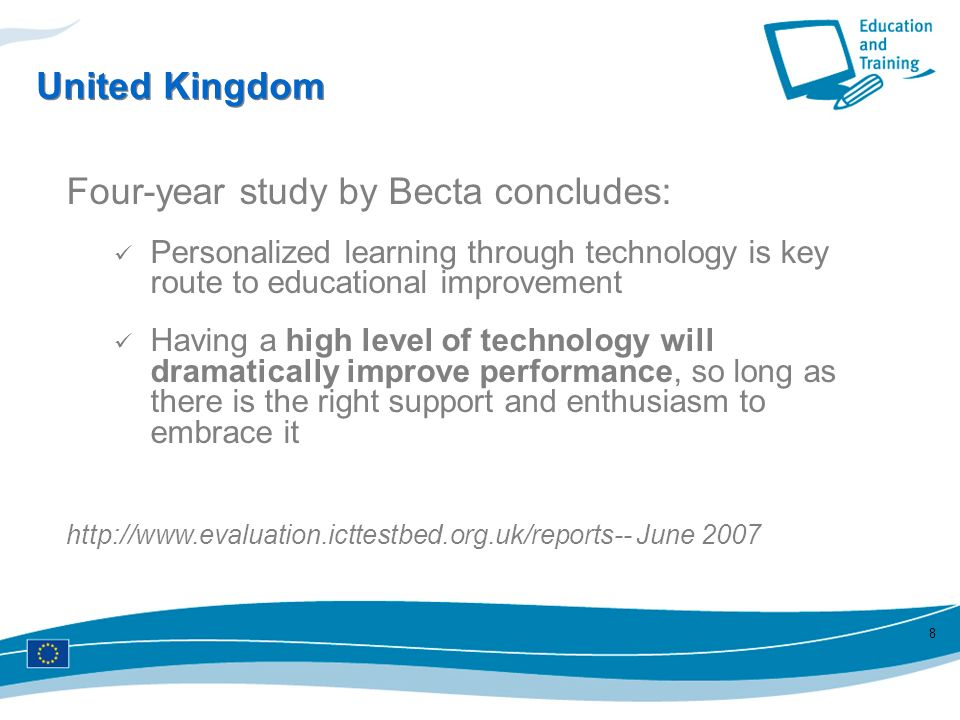 Four-year study by Becta concludes: