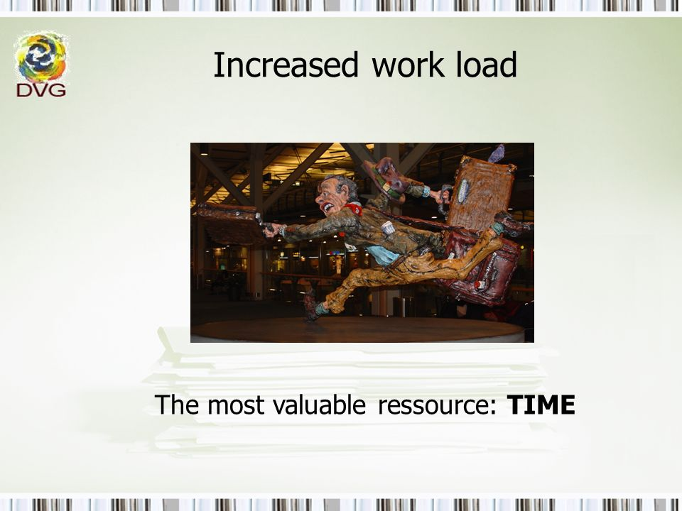 The most valuable ressource: TIME